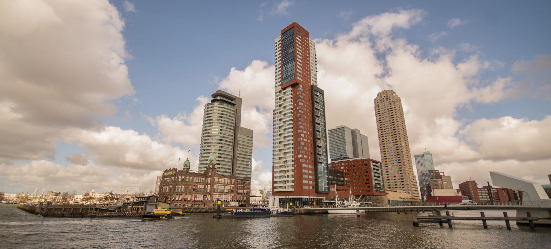 city-sky-water-building